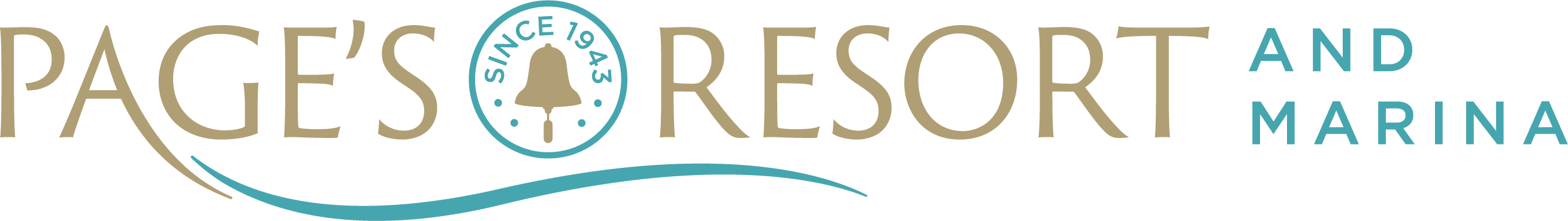 Page's Resort Logo